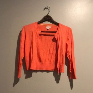 Old Navy Crop Cardigan